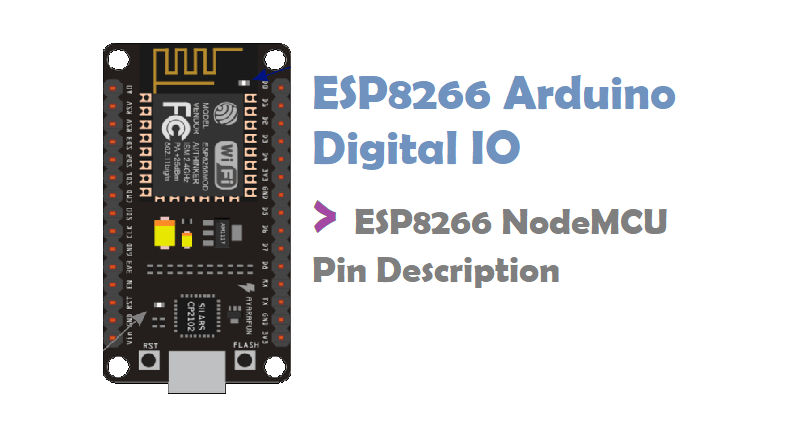 GPIO pins of ESP8266