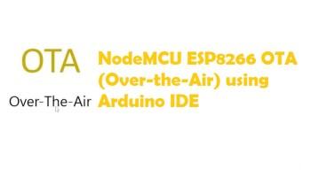 ArduinoOTA ESP32: Wi-Fi (OTA) Wireless Update from the