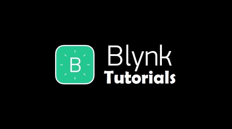 Blynk tutorials
