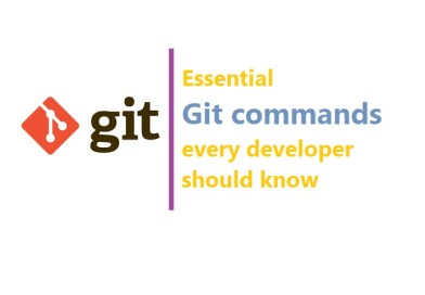 Essential git commands