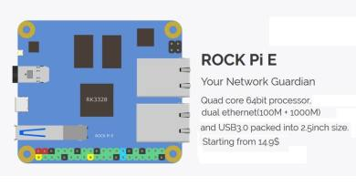 Getting started with ROCK Pi E