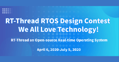 RT-Thread RTOS Design Contest