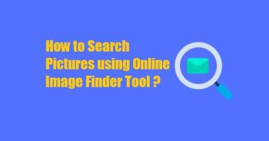 How to Search Pictures using Online Image Finder Tool