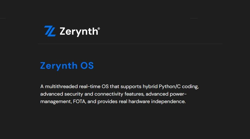 Zerynth OS