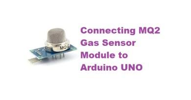 Connecting MQ2 Gas Sensor Module to Arduino UNO