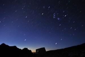 夜空の星星