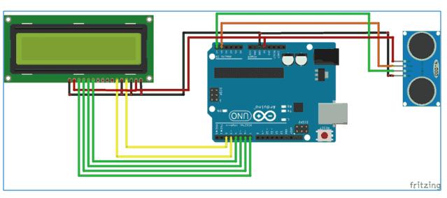 Distance Measurement Using Arduino And Ultrasonic Sensor Iotdunia