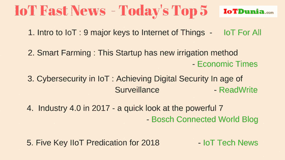 Today's IoT Fast News (2)