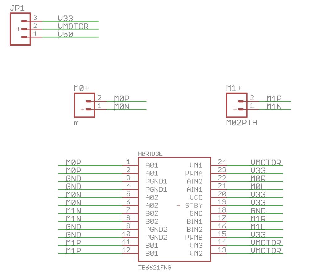 medium resolution of psoc motor driver schematic