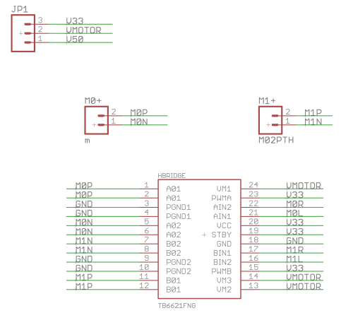 small resolution of psoc motor driver schematic