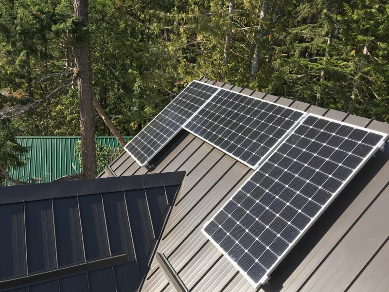 Off Grid Solar Array