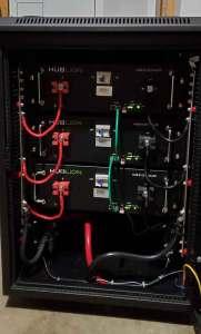 Lithium battery bank