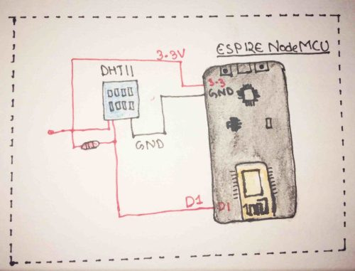 small resolution of read temperature and humidity from nodemcu esp12e with