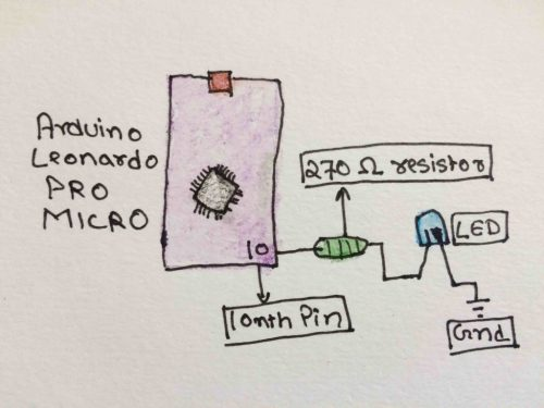 small resolution of circuit diagram led blinking tutorial