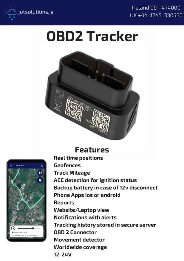 OBD2 Tracker