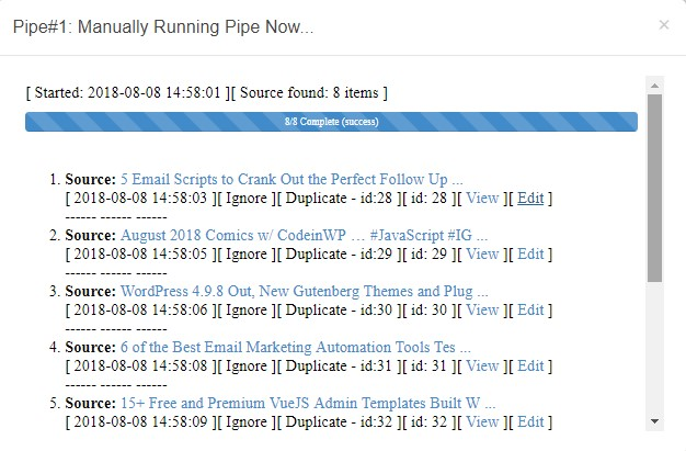 wp pipes - best autoblogging plugins for wordpress