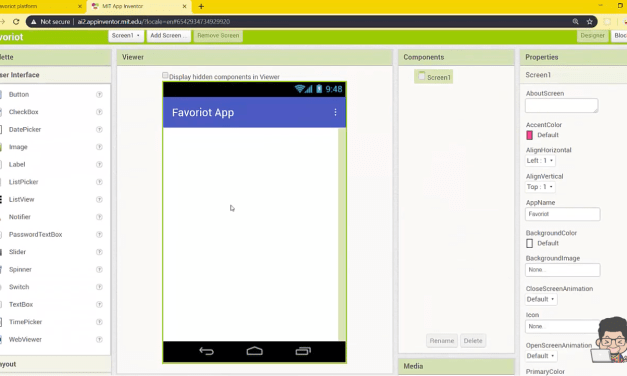 Android MIT App Inventor & FAVORIOT API