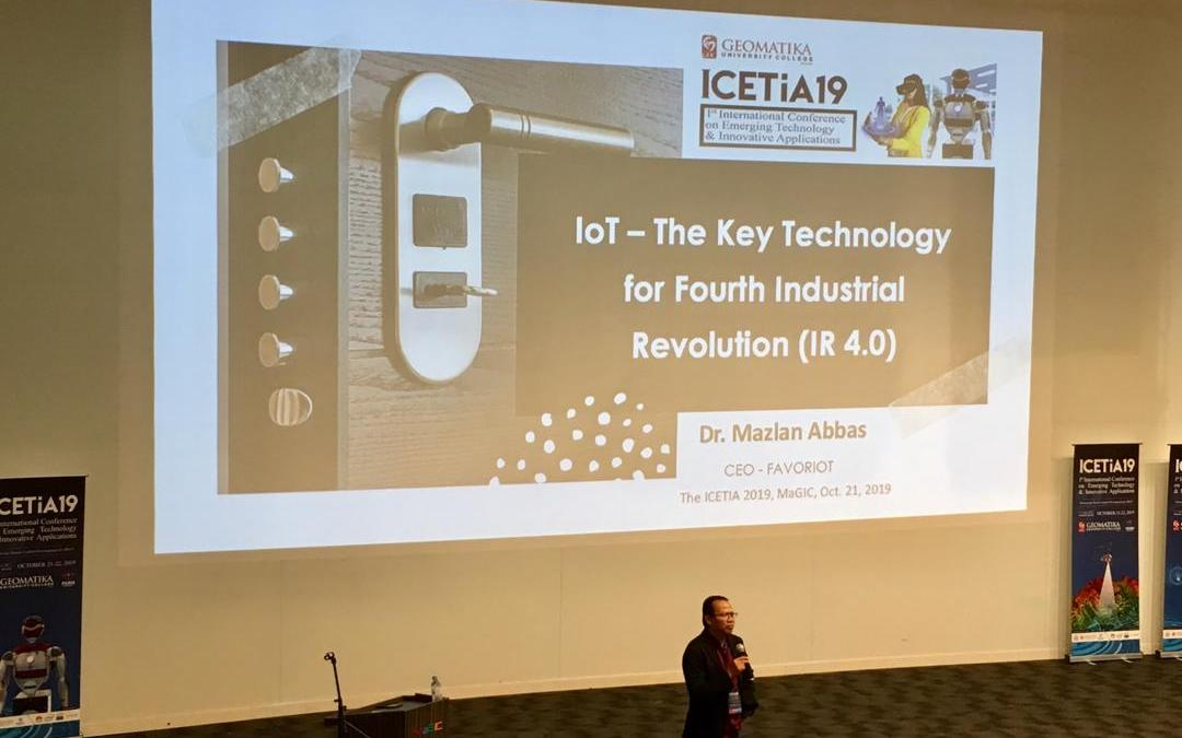 IoT – The Key Technology for IR 4.0