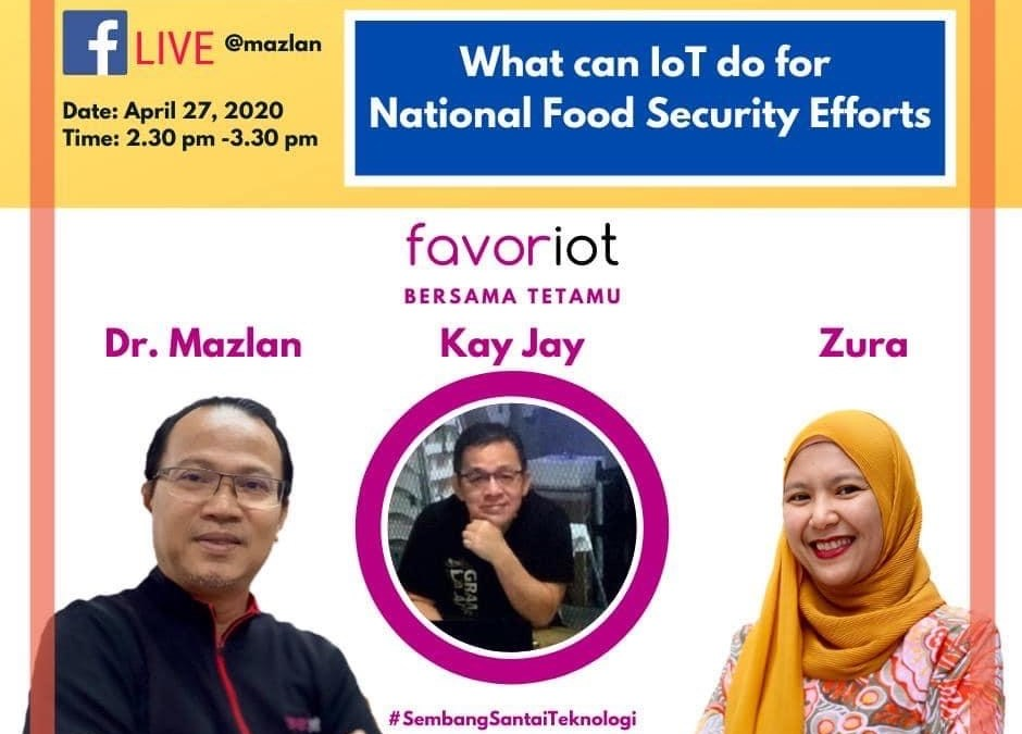 Webinar – What IoT Can Do for National Food Security Efforts