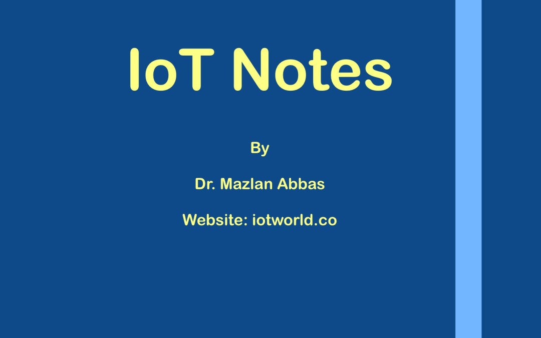IoT Notes