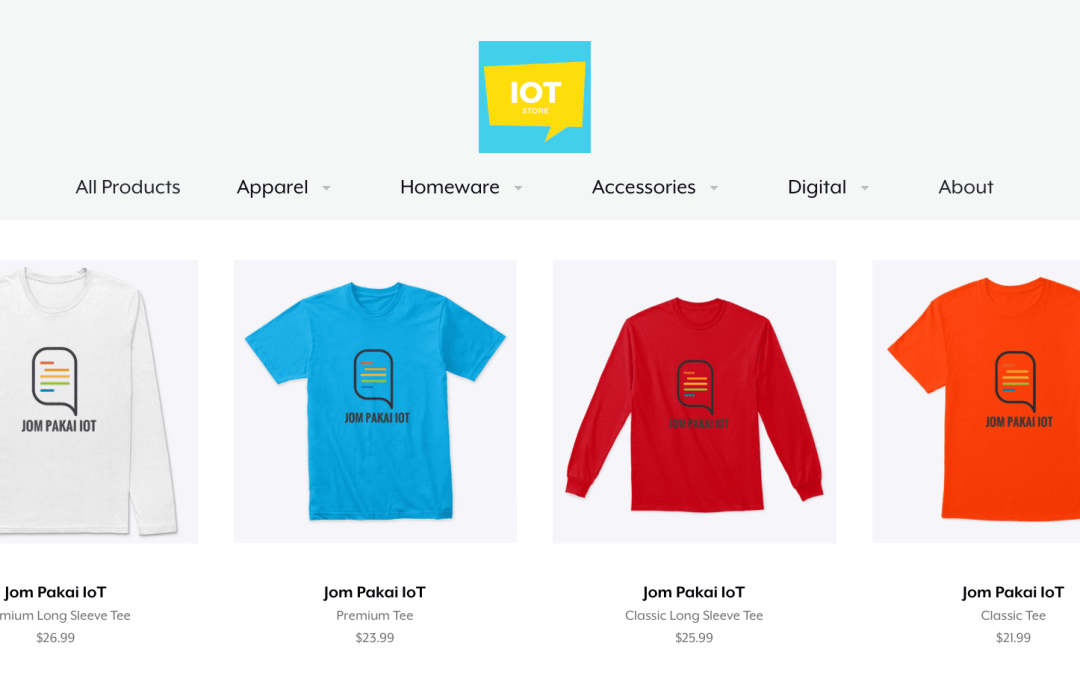 IoT Store – Where You Can Find IoT Merchandise!