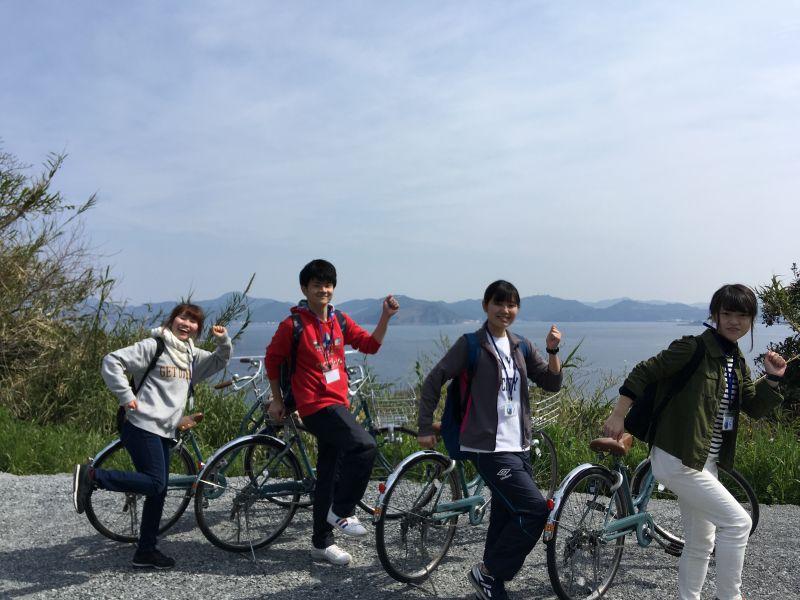 第三回サイクリングモニターツアー_頑張ります!