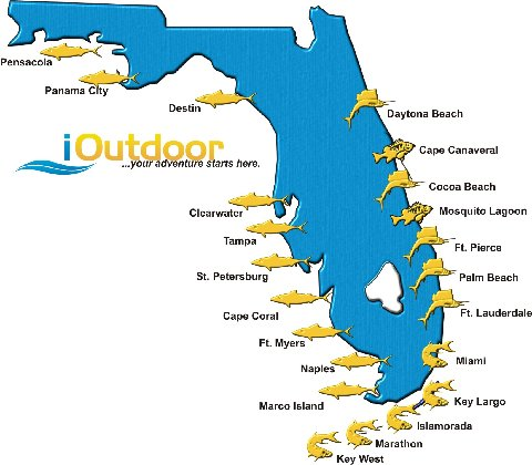 Bass Fishing Florida Locations
