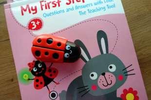 地表最強大的智能機器玩具認知書|My First Steps|蘿拉小瓢蟲帶孩子遊戲中學習