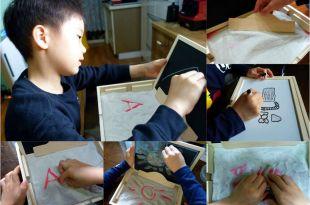[同大爺私物] 玩沙,畫畫,運筆,觸覺體驗都好用 西班牙akros蒙特梭利沙盤運筆塗鴨木盒 