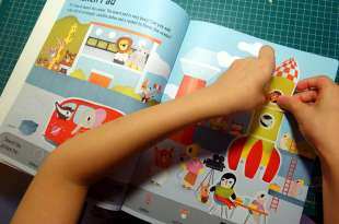 [小孩打發時間好物] 12本遊戲書大集合 故事貼紙書,大尺寸貼紙書,亮晶晶貼紙書,第1本貼紙書
