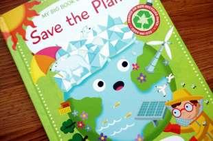 地球告急|Save the Planet和Planet Earth百科翻翻硬頁科普書
