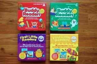4-8歲引導英文閱讀的建議書單:Buddy / First Readers有聲CD書盒