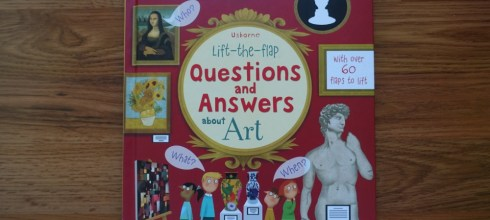 英國usborne 翻翻百科書  Lift-the-flap Questions and Answers about ART