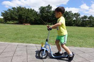 同大爺的第一台 ●德國製PUKY滑板車● 適合小小孩的戶外運動