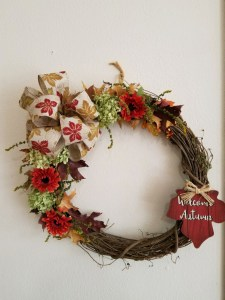 Fall Grapevine Releaf Wreaths