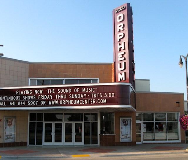 Orpheum Theater Center Marshalltown Iowa