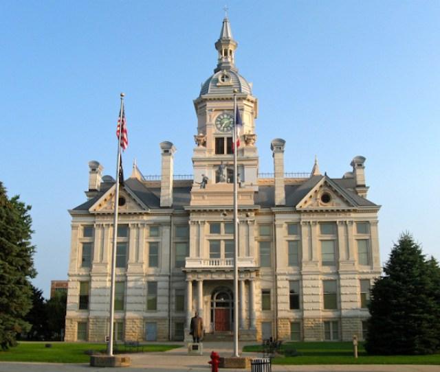Marshall County Courthouse Marshalltown Iowa
