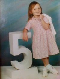 Jaymie Grahlman at 5