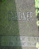 Steve Gardner tombstone for cases page