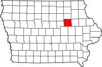 Black Hawk County in Iowa