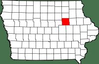 Black Hawk County in Iowa