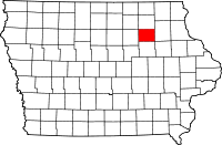 Bremer County in Iowa