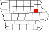 Buchanan County in Iowa