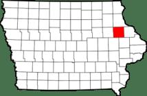 Delaware County in Iowa