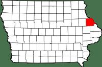 Dubuque County in Iowa