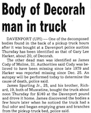Gary Harker body found