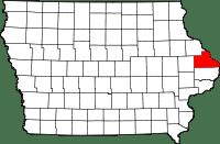 Jackson County in Iowa