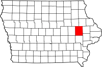 Linn County in Iowa