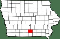 Lucas County in Iowa