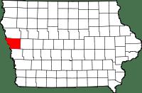 Monona County in Iowa